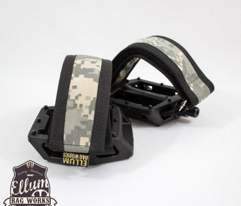 USA made bike pedal straps