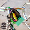 """Hitchhiker"" Drink Holder + Handlebar Bag by Ellum Bag Works"
