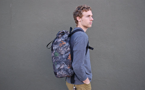 Road Runner Bags Large Roll Top Backpack