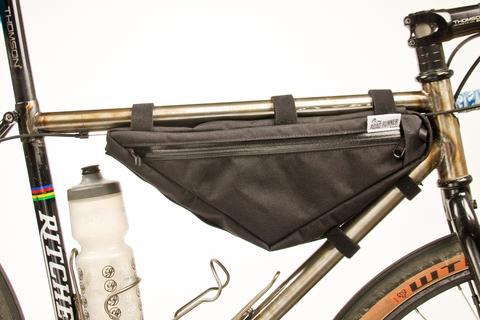 The Wedge Half Frame Bag by Road Runner Bags