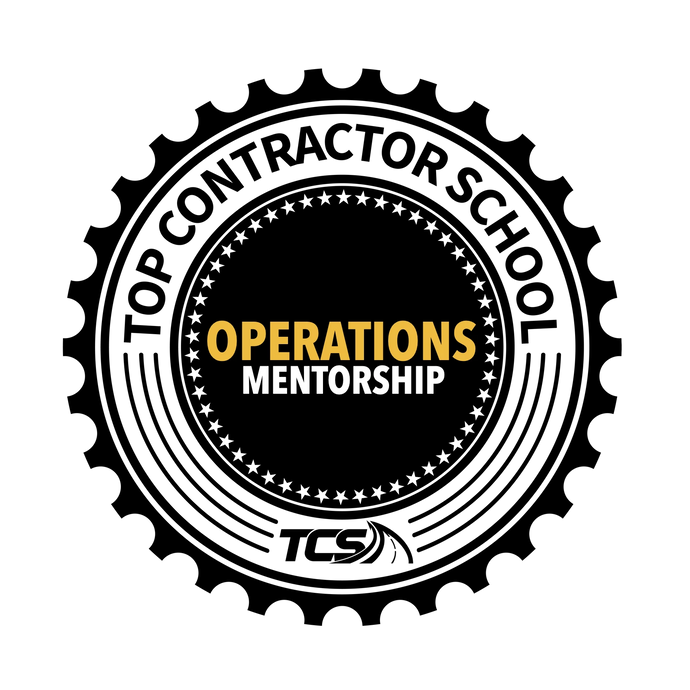 8 PART OPERATIONS MENTORSHIP