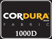 Cordura 1000D Nylon watch band with genuine leather lining