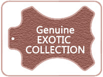 Genuine Exotic Leather Watch Band Collection