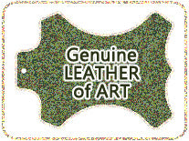 Genuine Leather of Art Special design watch band