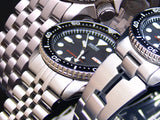 Seiko SKX007, SKX009, SKX011 replacement stainless steel band