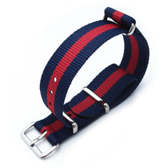 18mm MiLTAT G10 - Dark Blue & Red Stripes, P