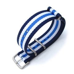 20mm MiLTAT G10 NATO - Blue & White Stripes, B