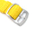 Perlon Strap, Yellow, Sandblasted