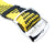 Perlon strap, Black & Yellow, Polished
