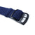 Perlon Strap, Dark Blue, PVD B. Black