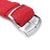 Perlon Strap, Red, Polished