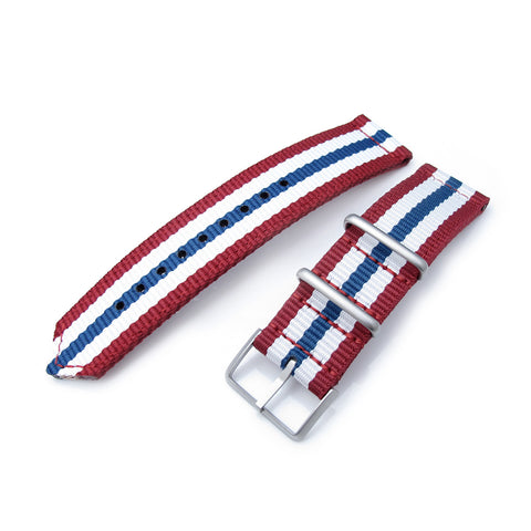 MiLTAT WW2 G10 Nylon, B - Red, White, Blue