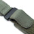 MiLTAT Military Green Nylon Hook and Loop Fastener Watch Strap, PVD Black