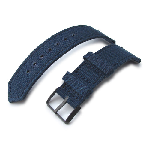 MiLTAT WW2 2-piece Washed Canvas, Navy PVD