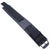 MiLTAT Double Layer Black Nylon Hook and Loop Fastener Watch Strap, PVD Black (for IWC)
