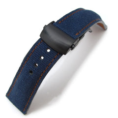 MiLTAT Navy Washed Canvas, Roller Deployant PVD