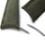 MiLTAT Military Green Washed Canvas, Roller Deployant Brush