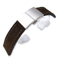 miltat leather band