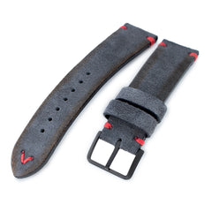 MiLTAT Dark Grey Nubuck, Red St. PVD