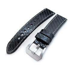 22mm MiLTAT Genuine Carbon Fiber, Beige St. XL