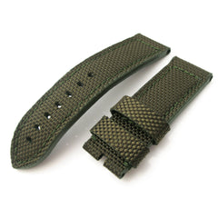 24mm MiLTAT Green Honeycomb Weave Nylon