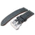Light Grey Croco Grain Strap, MiLTAT (BE)