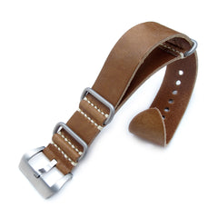 26mm MiLTAT G10 Grezzo SQ ZULU Saddle Brown, BL