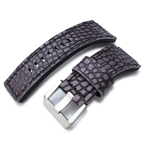 MiLTAT Alligator for Bell & Ross BR01, Grey