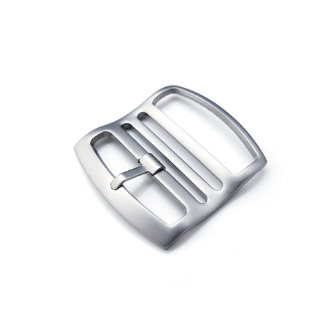 Ladder Lock Slider tang buckle, Sandblasted