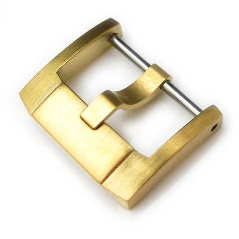 316L IP Gold SS Screw-in Buckle, IWC Style