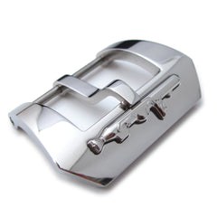 24mm Submarine Embossed 316L Stainless Steel Tang Buckle
