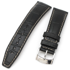 21mm CrocoCalf (Croco Grain) Leather
