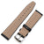 CrocoCalf  Black Watch Strap