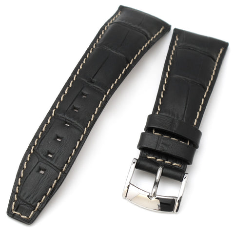 23mm CrocoCalf (Croco Grain) Leather