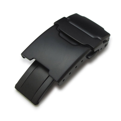 Stainless Steel Watch Parts, PVD Black Clasp