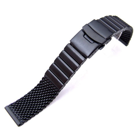 PVD  316L Mesh Band on Diver Clasp
