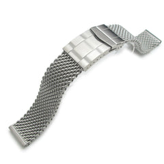 20mm Milanese Thick Mesh Band, Submariner Clasp