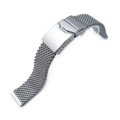 20mm Milanese Thick Mesh Band, Button Chamfer