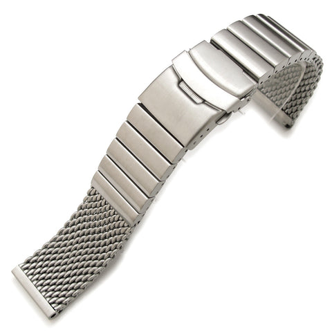22mm Stainless Steel Mesh Diver Clasp
