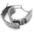 "24mm ""SHARK"" Mesh Band Flexi Watch Bracelet"