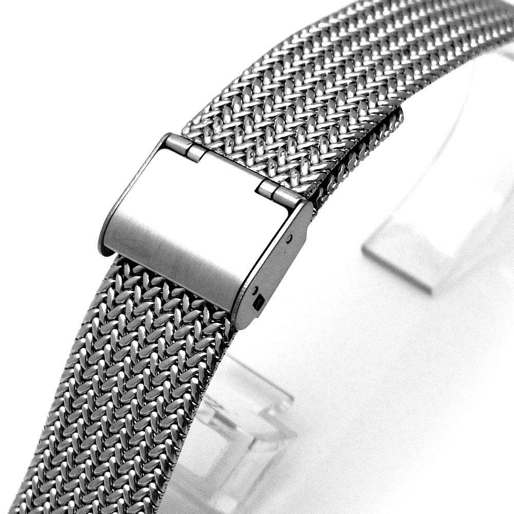Interlock Milanese Retro Wire Mesh Band | Taikonaut watch band