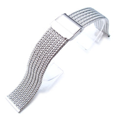 18mm Retro Wire Mesh, Double Flip Clasp, P