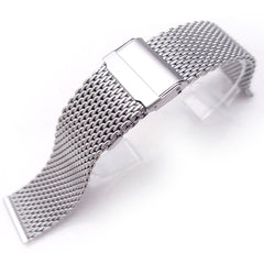Interlock Milanese Retro Wire Mesh Band