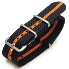 NATO James Bond Black & Orange