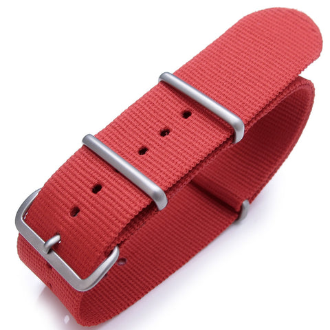 NATO G10 Watch Band in Red