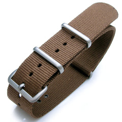 NATO G10 Watch Band in Brown