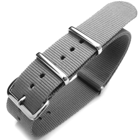 NATO G10 Watch Band in Light Grey