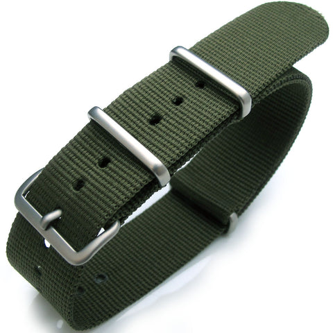 NATO G10 Watch Band in Forest Green