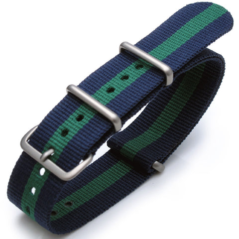 NATO James Bond Blue & Green