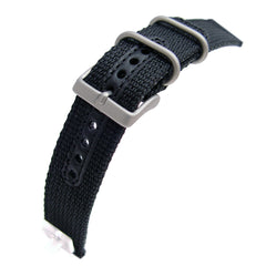 20mm  Nylon Military Black Style